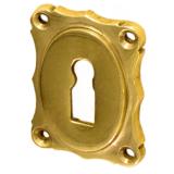 Rosette mit Buntbart Schlüsselloch B4211BB (Stückpreis)