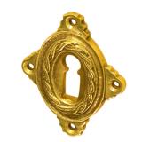 Rosette mit Buntbart Schlüsselloch B4711BB (Stückpreis)