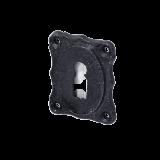 Rosette mit Buntbart Schlüsselloch IR4211BB (Stückpreis)