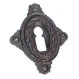 Rosette mit Buntbart Schlüsselloch IR4711BB (Stückpreis)