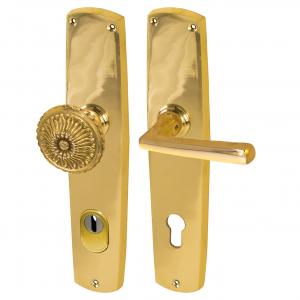 Schutzbeschlag | Antiker Sicherheitsbeschlag | Klassisch| Ziehschutz Zylinderabdeckung